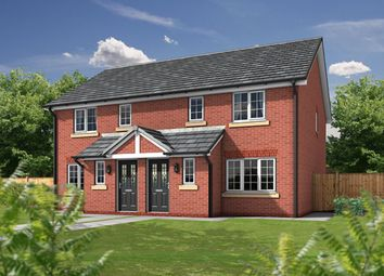 Thumbnail 3 bedroom semi-detached house for sale in The Paddocks, Sandy Lane, Higher Bartle, Preston
