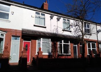 Thumbnail 2 bed terraced house to rent in Provis Road, Chorlton Cum Hardy, Manchester