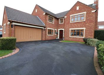 Thumbnail 5 bed detached house for sale in Howgill Close, Little Sutton, Ellesmere Port