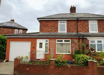 Thumbnail 2 bed semi-detached house for sale in Plantation Avenue, Littletown, Durham