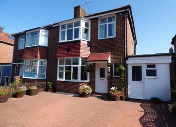 Thumbnail 3 bed semi-detached house for sale in Spring Gardens, North Shields, Tyne And Wear