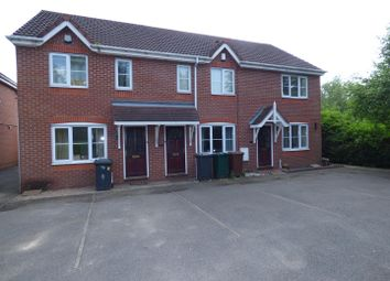 Thumbnail 2 bed town house to rent in Montgomery Close, Hilton, Derby