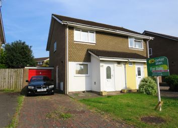 Thumbnail 2 bed semi-detached house for sale in Castle Lea, Caldicot