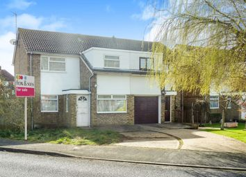 Thumbnail 3 bed end terrace house for sale in Bridgemere Road, Eastbourne