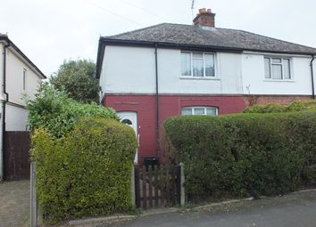 Thumbnail 3 bed semi-detached house for sale in Eaton Road, Camberley