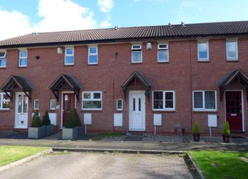 Thumbnail 2 bed terraced house for sale in Tidbury Close, Walkwood, Redditch