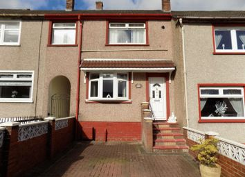 Thumbnail 3 bed terraced house for sale in Rawyards Avenue, Holehills, Airdrie