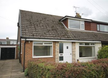 Thumbnail 3 bed semi-detached house to rent in Kiln Lane, Milnrow, Rochdale