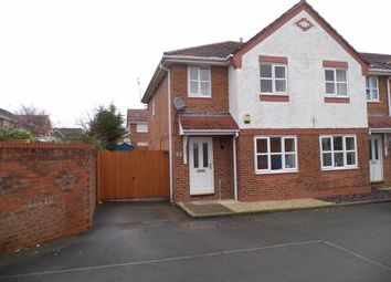 Thumbnail 3 bed semi-detached house to rent in Whittaker Close, Crewe