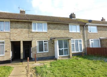 Thumbnail 2 bed terraced house for sale in Victory Avenue, Whittlesey, Peterborough
