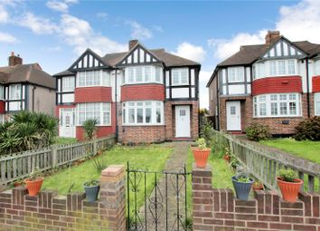 Thumbnail 3 bed semi-detached house for sale in East Rochester Way, Blackfen, Kent