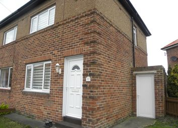Thumbnail 2 bed semi-detached house for sale in Seaburn View, New Hartley, Tyne & Wear