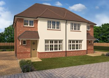 Thumbnail 3 bed semi-detached house for sale in The Brambles, Ongar Road, Dunmow, Essex