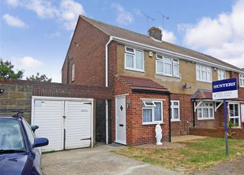 Thumbnail 2 bed semi-detached house for sale in Lower Higham Road, Gravesend, Kent
