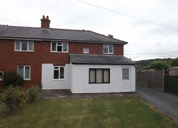 Thumbnail 3 bed semi-detached house to rent in Church View, Much Dewchurch, Hereford
