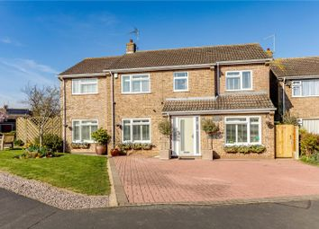 Thumbnail 5 bedroom detached house for sale in Aberdeen Close, Stamford, Lincolnshire