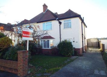 Thumbnail 3 bed semi-detached house for sale in Shorncliffe Crescent, Folkestone