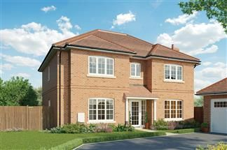 Thumbnail 4 bedroom detached house for sale in Willow Tree Works, Swallowfield