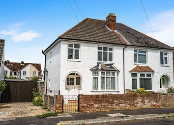 Thumbnail 3 bed semi-detached house for sale in Raynes Road, Lee-On-The-Solent