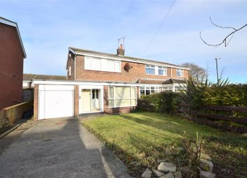 Thumbnail 3 bed semi-detached house for sale in Vicarage Close, Silksworth, Sunderland