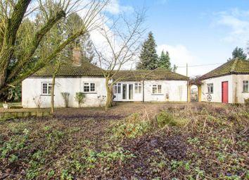 Thumbnail 3 bedroom bungalow for sale in Weasenham Road, Great Massingham, King's Lynn, Norfolk