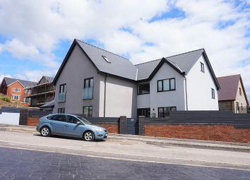 Thumbnail 4 bed detached house for sale in Abergarw Meadow, Brynmenyn, Bridgend, Bridgend County.