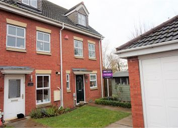 Thumbnail 3 bed town house for sale in Lilac Road, Brough