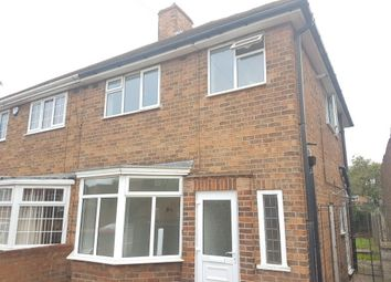 Thumbnail 3 bed semi-detached house to rent in Egerton Avenue, Off Abbey Lane, Leicester