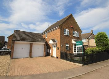 Thumbnail 4 bed detached house for sale in Sanderson Close, Westoning