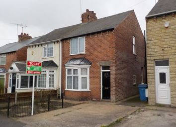 Thumbnail 2 bedroom semi-detached house to rent in Stainforth Street, Mansfield Woodhouse, Mansfield