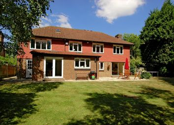 Thumbnail 5 bedroom detached house to rent in Burleigh Park, Cobham