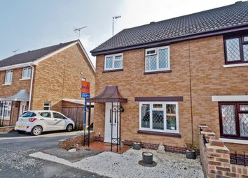 Thumbnail 3 bed semi-detached house for sale in Marsh Close, Drayton, Portsmouth