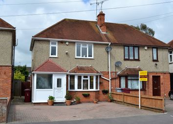 Thumbnail 4 bedroom semi-detached house for sale in Bramble Crescent, Tilehurst, Reading