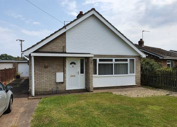 Thumbnail 2 bedroom detached bungalow for sale in Stow Road, Wisbech