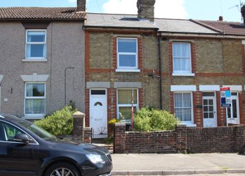 Thumbnail 2 bed terraced house to rent in Western Road, Maidstone