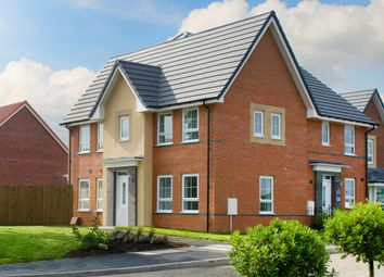 "Thumbnail 3 bed semi-detached house for sale in ""Morpeth 2"" at Warkton Lane, Barton Seagrave, Kettering"