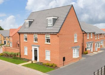 """Thumbnail 5 bed detached house for sale in """"Maddoc"""" at Kingfisher Drive, Whitby"""