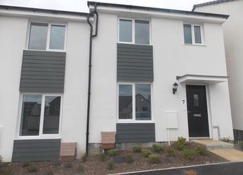 Thumbnail 3 bed semi-detached house to rent in Govetts Field, Launceston