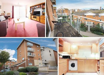 Thumbnail 1 bed flat for sale in Lynton Court, Chandlery Way, Cardiff