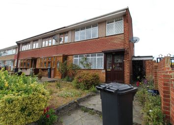 Thumbnail 3 bed terraced house to rent in Great Cullings, Romford, Essex