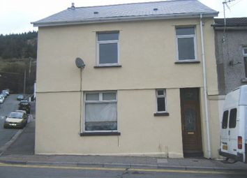 Thumbnail 3 bed end terrace house for sale in Court Street, Clydach Vale, Rhondda Cynon Taff.