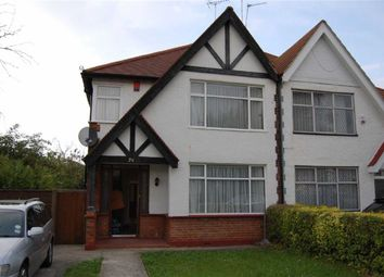 Thumbnail 3 bedroom semi-detached house to rent in Queens Court, Wembley, Middlesex