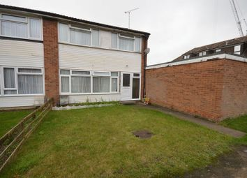 Thumbnail 3 bed end terrace house to rent in Clarkes Way, Houghton Regis, Dunstable