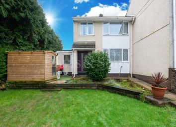 Thumbnail 3 bed end terrace house for sale in Bettws Close, Newport, Gwent.