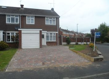 Thumbnail 3 bedroom terraced house for sale in Sutton Avenue, Eastern Green, Coventry