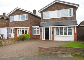 Thumbnail 4 bed link-detached house for sale in Jordan Close, Fradley, Lichfield