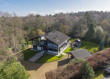 Thumbnail 5 bedroom detached house for sale in Warreners Lane, St. Georges Hill, Weybridge