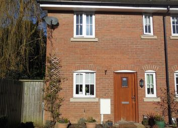 Thumbnail 2 bed town house to rent in Cowper Road, Burbage, Hinckley