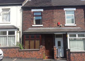 Thumbnail 2 bed terraced house to rent in Hazelhurst Street, Stoke-On-Trent