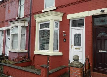 Thumbnail 2 bedroom terraced house for sale in August Road, Liverpool